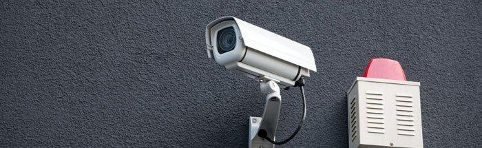 Bewakingscamera met opname