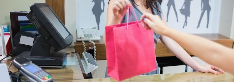 Kassasysteem voor winkel